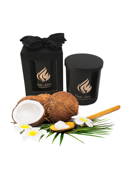 Tropical Coconut Scented Soy Candle | Oxford Collection