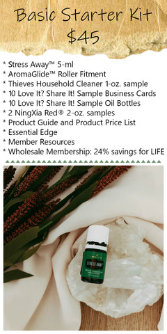 basic young living membership