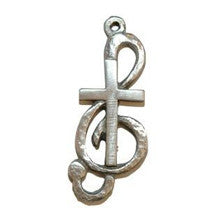Clef Note Cross Keyring