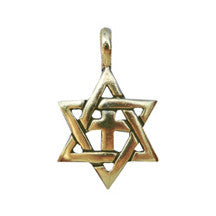Star of David Cross Necklace