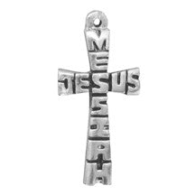 Jesus Messiah Cross Necklace