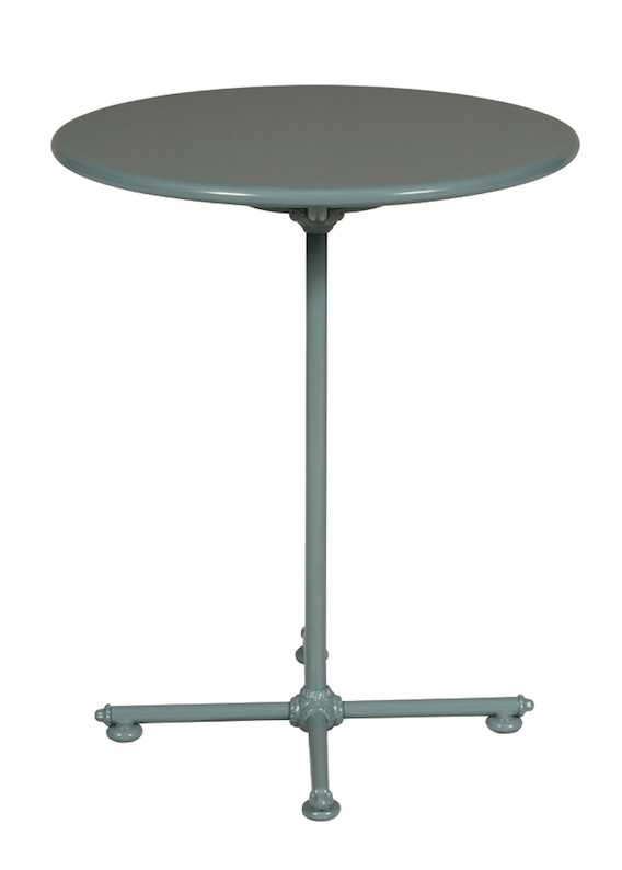 1800 aluminum round bistro table – domus outdoor