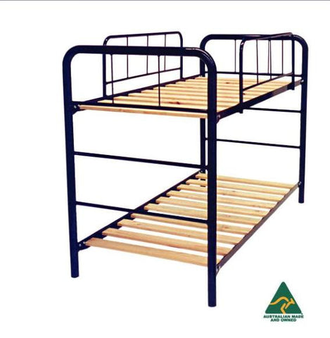 Double Decker Steel Frame Bunk Bed