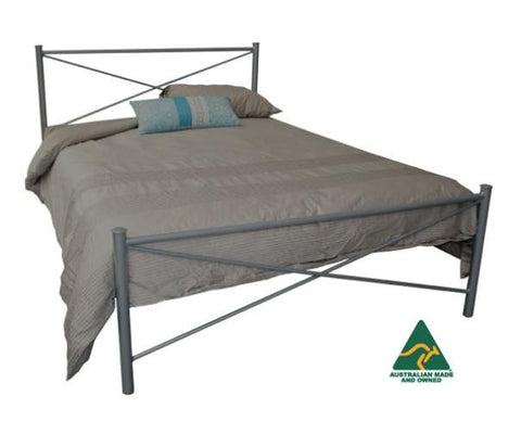 Paris Steel Bed frame
