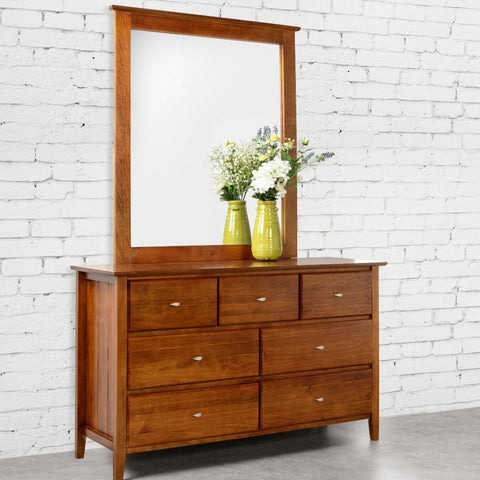 Tana Seven drawer dresser with mirror