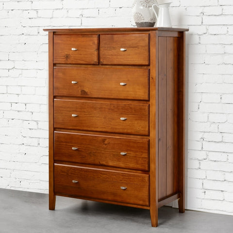 Tana Six drawer Tallboy