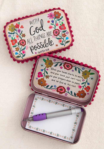 Prayer Box - With God