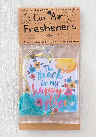 Car Air Freshener - Beach