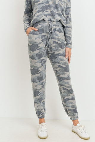 Brushed Camo Joggers