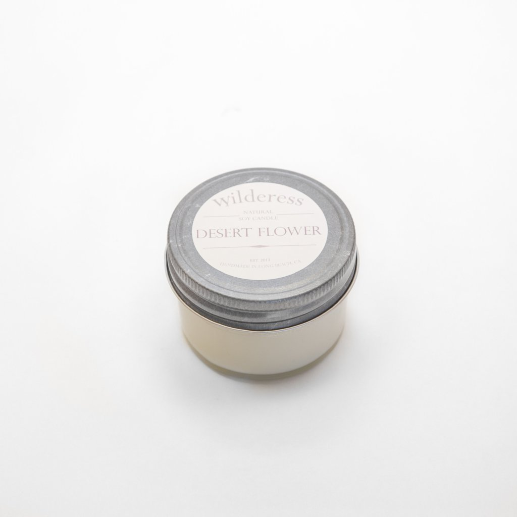 Wilderess Soy Candle - Desert Flower