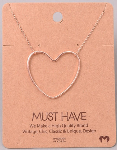 Dainty Necklace - Heart