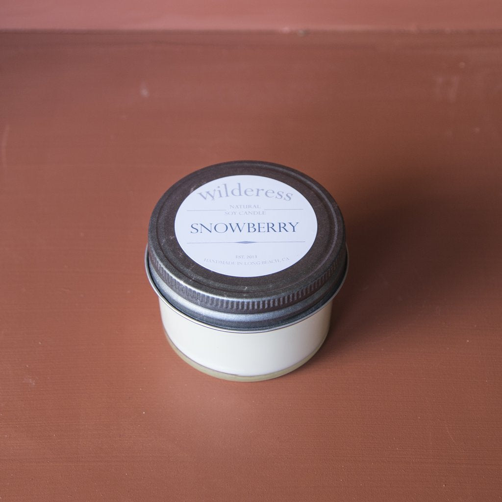 Wilderess Soy Candle - Snowberry