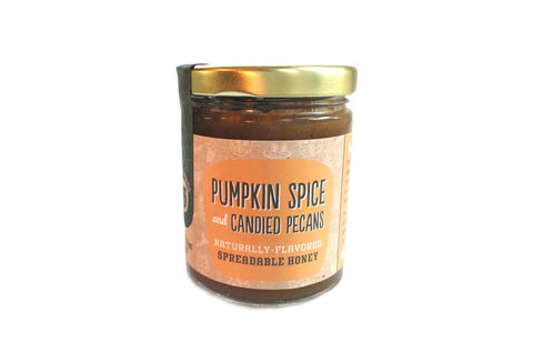 Pumpkin Spice and Candied Pecans Honey