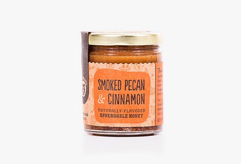 Smoked Pecan and Vietnamese Cinnamon Honey