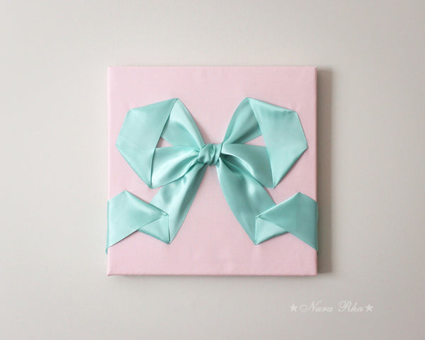 mint and pink decor