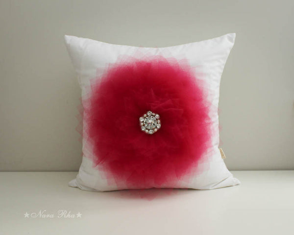 Tutu Flower Pillow