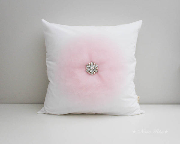 Baby Pink Flower cushion