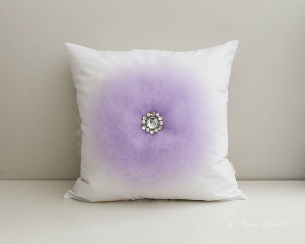 Lavender Flower pillow case