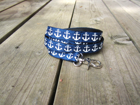 "3/4"" wide dog leash- anchors"