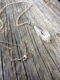 Light Smoky Quartz Long Pendant Necklace