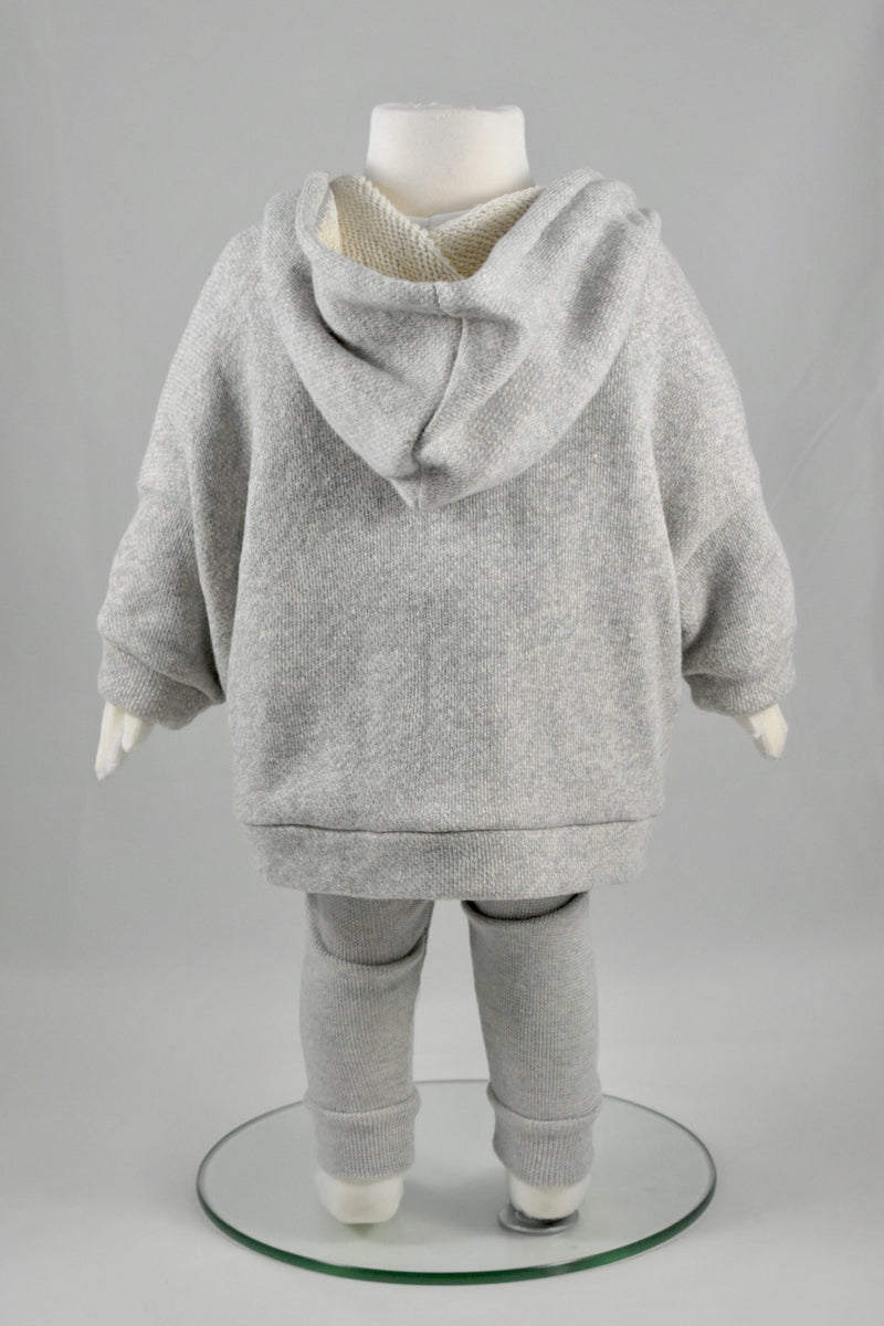 French Terry Cotton Hoodie