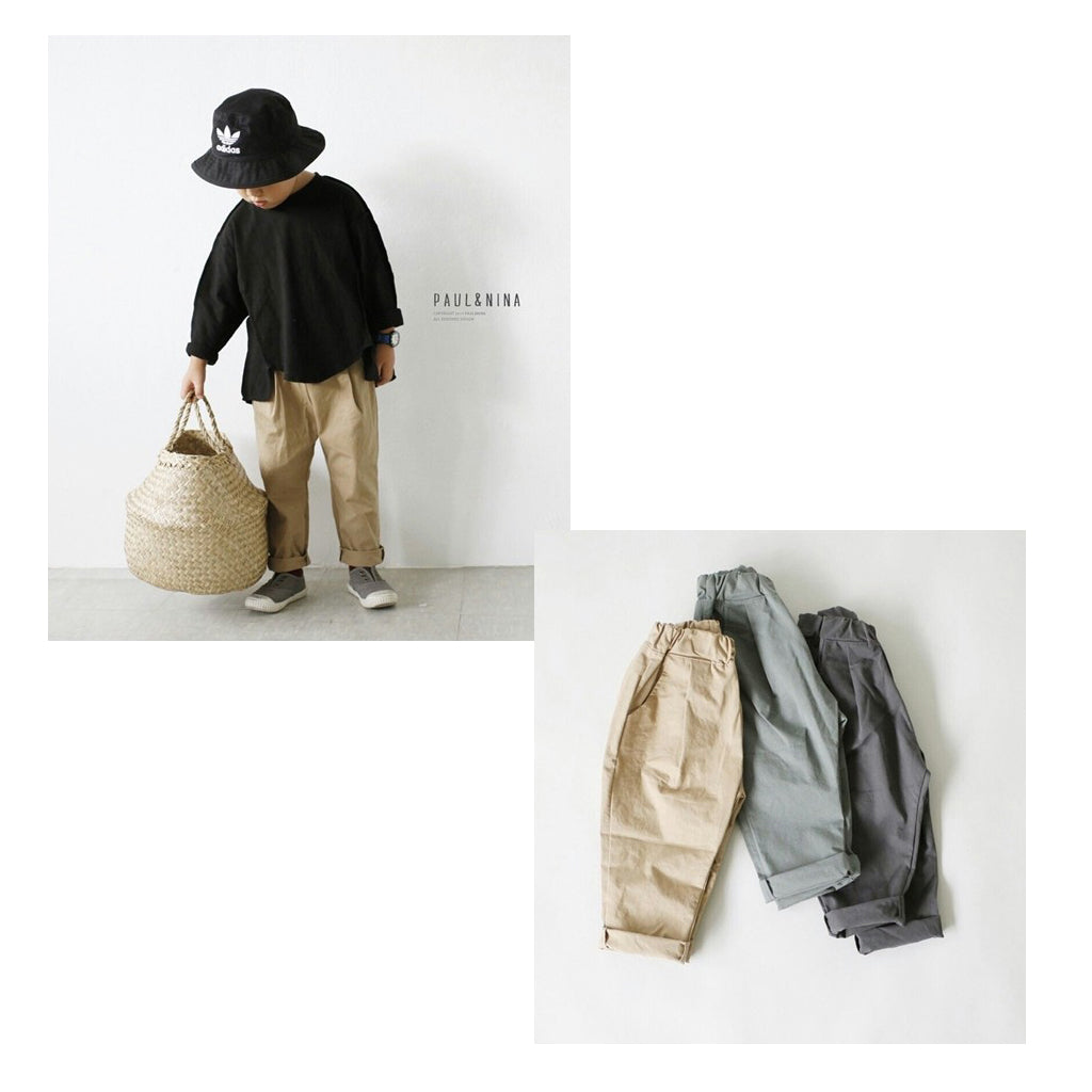 Pleated Chino Pants
