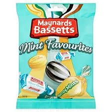 Maynards Bassetts Mint Favourites 192g