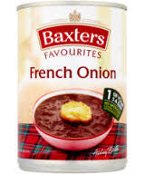 Baxters French Onion Soup BBD 28/2/19
