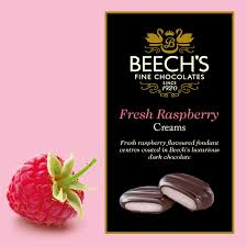 Beech's Fresh Chocolates Raspberry Creams 90g