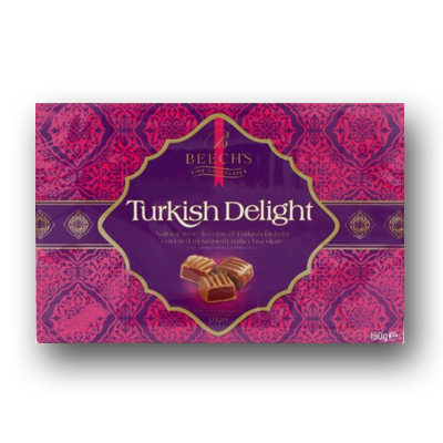 Beech's Milk Chocolate Turkish Delight 150g