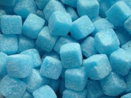 Blue Raspberry Cubes 100g