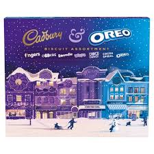 Cadbury & Orero Biscuit Assortment Box 502g