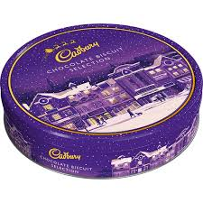 Cadbury Chocolate Selection Biscuit Tin 247g