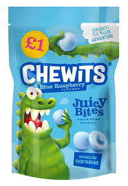Chewits Blue Raspberry Juicy Bites