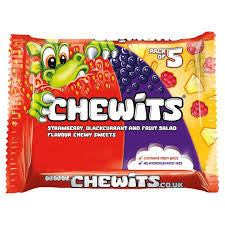 Chewits Multipack 4 pack