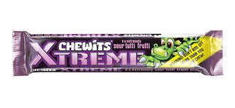 Chewits Xtreme Sour Tutti Fruitti