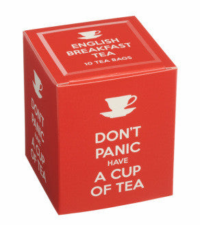New English Teas - Don't Panic Have a Cup of Tea