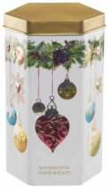 Farmhouse Biscuits Christmas Bauble Tin 200g