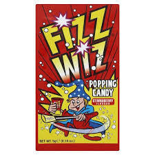 Fizz Wiz Popping Candy - Strawberry