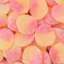 Fizzy Peaches 100g