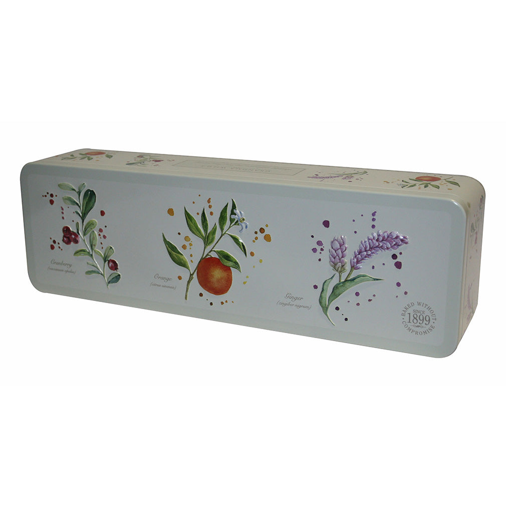Grandma Wild's Embossed Botanical Tin 200g