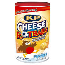 KP Cheese Footballs Caddy 142g