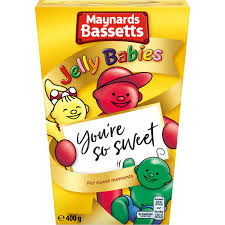 Bassetts Jelly Babies Carton 400g
