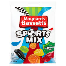 Maynards Bassetts Sports Mix 190g