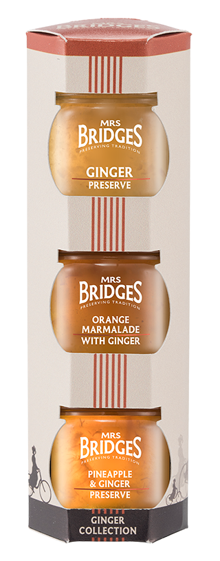 Mrs Bridges Ginger Mini Jar Gift Set