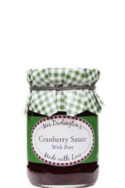 Mrs Darlington's Cranberry Sauce with Port 200g