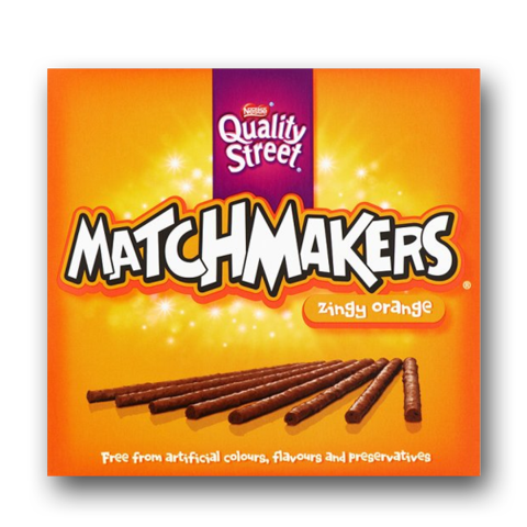Nestle Quality Street Matchmakers Orange 120g