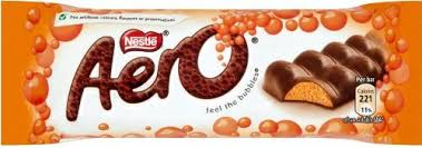 Nestlé Aero Orange Sharing Block 100g