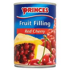 Princes Red Cherry Fruit Filling