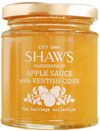 Shaw's Apple Sauce with Kentish Cider 200g